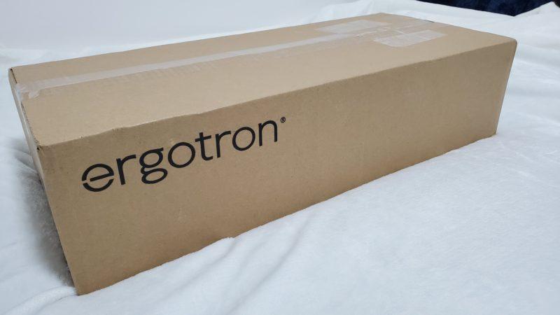 エルゴトロンモニターアーム外箱