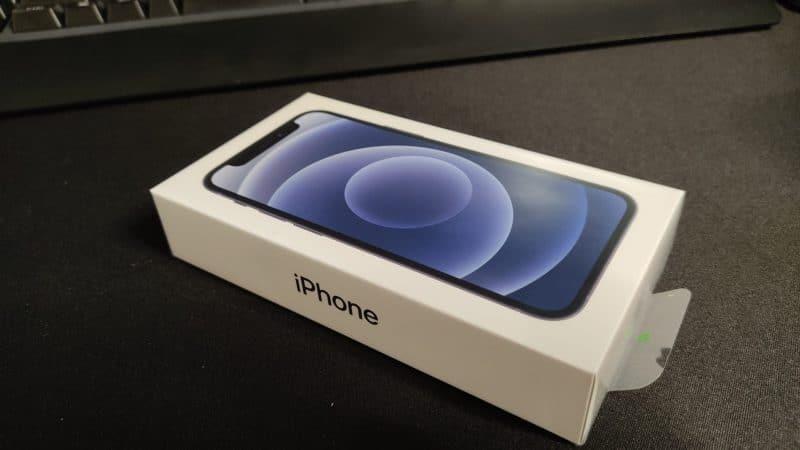 iPhoneの化粧箱