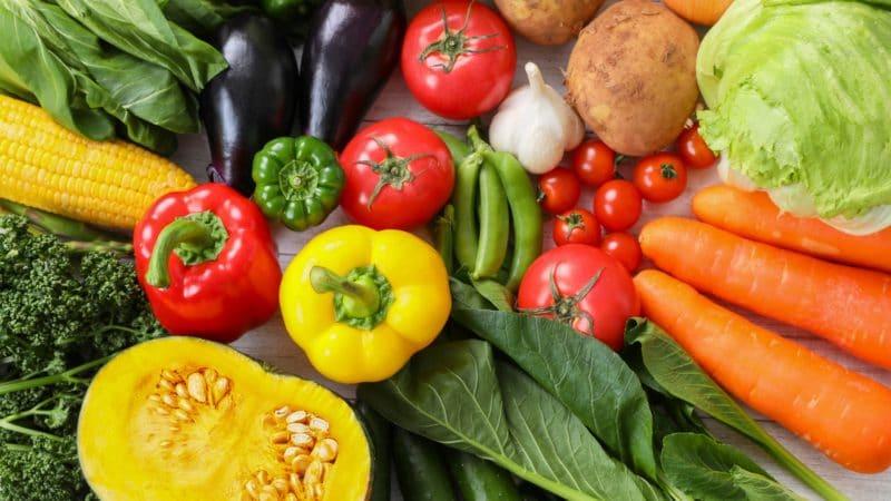 一日分の野菜イメージ